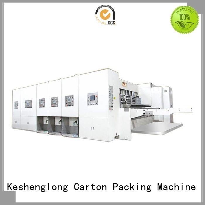 Custom machine automatic printing slotting die cutting machine flexo flexo printing and die cutting machine
