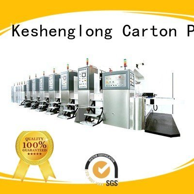 China hd flexo control cutting folding top KeShengLong