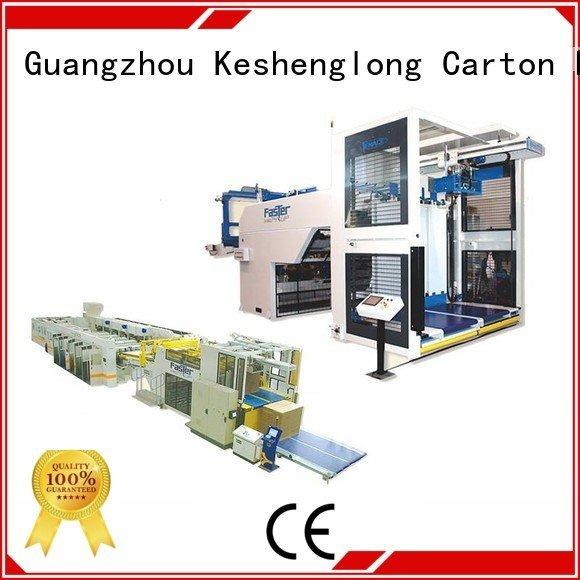 Auxiliary cardboard box printing machine PFA four color KeShengLong