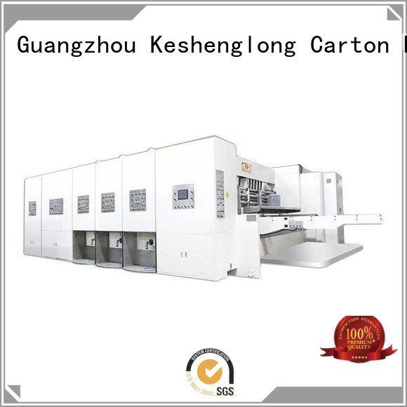 cutting automatic printing slotting die cutting machine slotting die KeShengLong