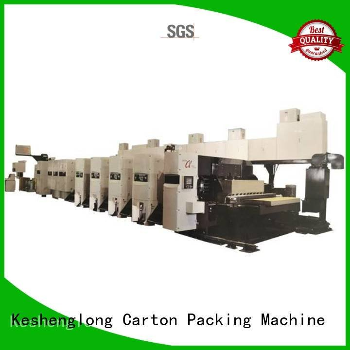 Wholesale cardboard flexo printer slotter KeShengLong Brand