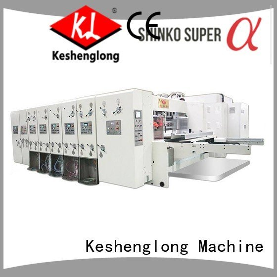 printing automatic printing slotting die cutting machine jumbo slotting KeShengLong