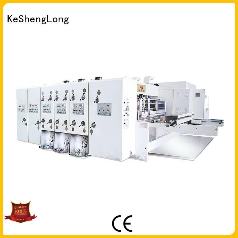 KeShengLong Brand cutting machine die automatic printing slotting die cutting machine four color