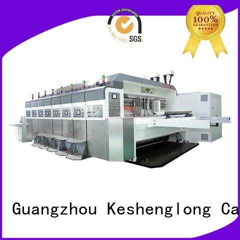 KeShengLong Brand control slotting computerized HD flexo printer slotter movable