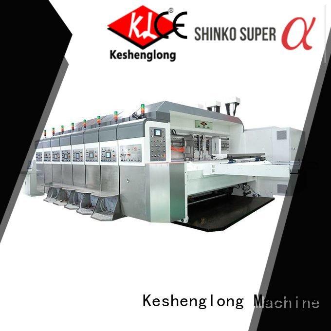 gluing automatic KeShengLong HD flexo printer slotter