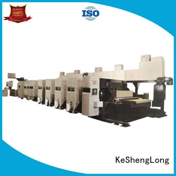 4 color Carton inline KeShengLong flexo printer slotter