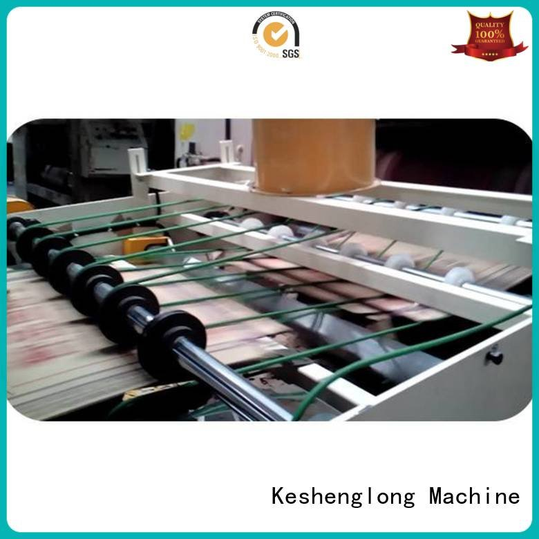 KeShengLong Brand Auxiliary cardboard box printing machine six color three color Auxiliary