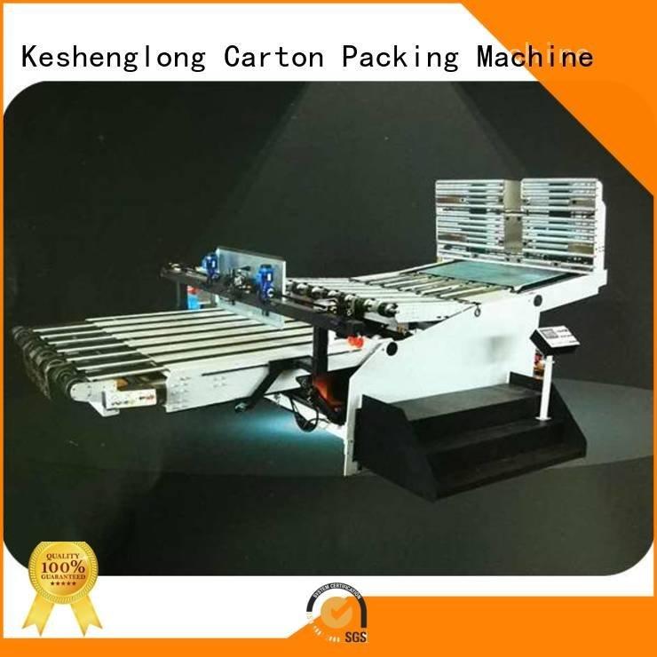 OEM cardboard box printing machine prefeeder slitter cardboard box printing machine