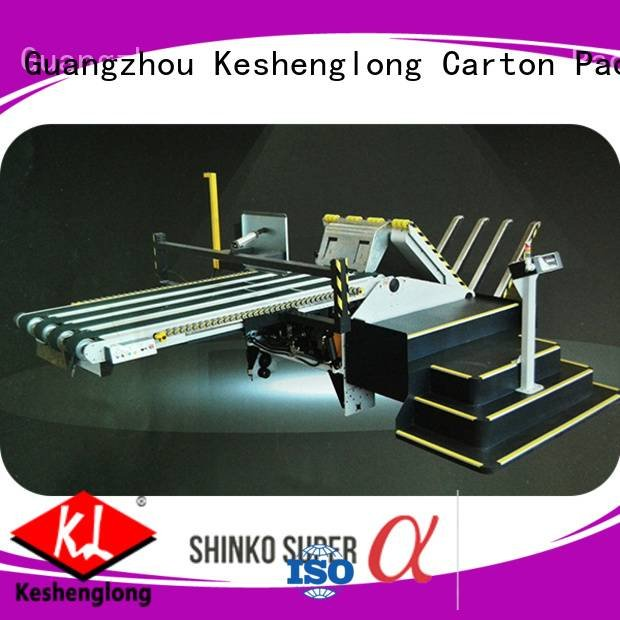 KeShengLong Brand three color six color Top cardboard box printing machine PFA