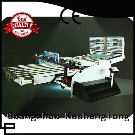 six color PFA Top cardboard box printing machine KeShengLong