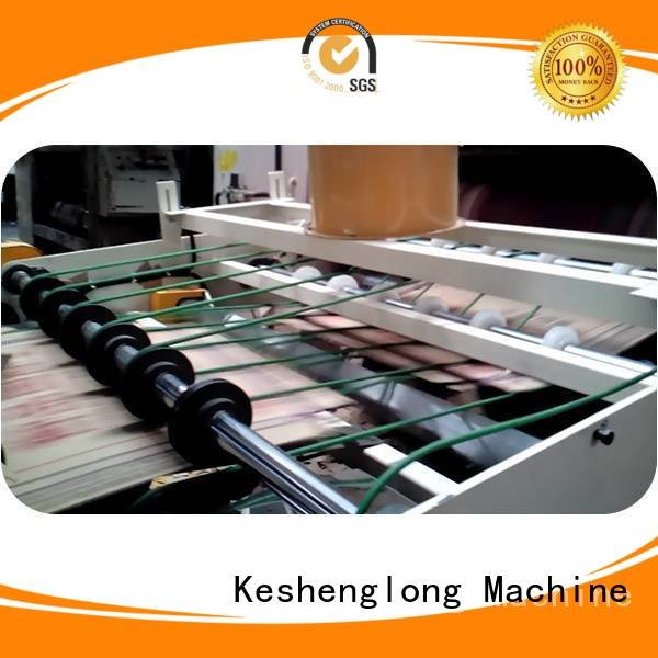six color Top three color cardboard box printing machine KeShengLong