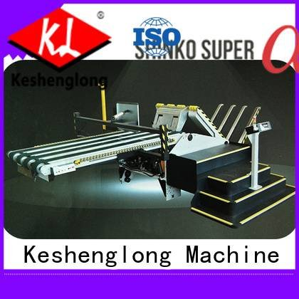 three color Auxiliary KeShengLong cardboard box printing machine