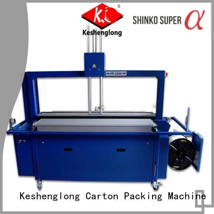KeShengLong Brand four color three color PFA cardboard box printing machine