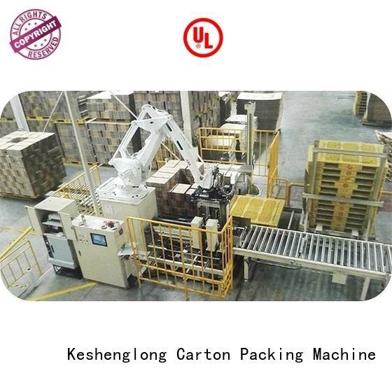palletizer cardboard box printing machine KeShengLong cardboard box printing machine