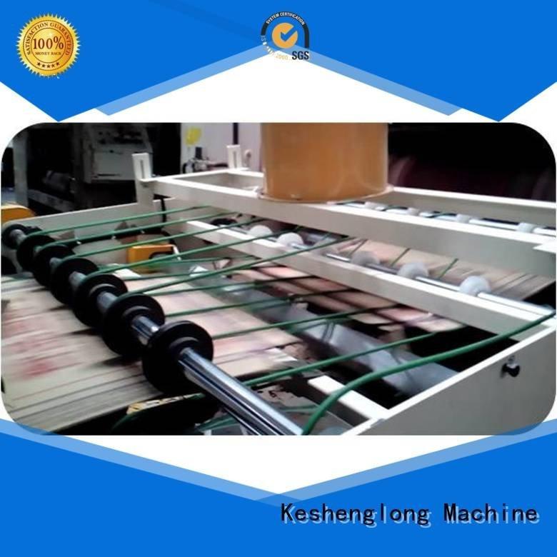 KeShengLong Brand PFA Auxiliary cardboard box printing machine six color three color