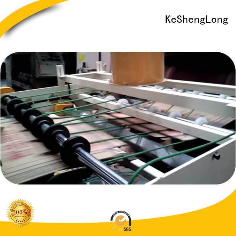 PFA Auxiliary four color cardboard box printing machine KeShengLong