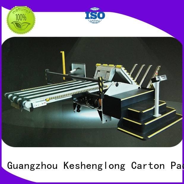 Hot cardboard box printing machine six color cardboard box printing machine PFA KeShengLong