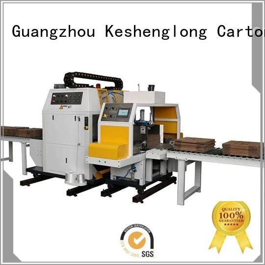 PFA three color Auxiliary cardboard box printing machine KeShengLong