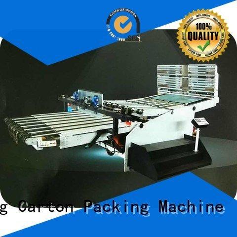 KeShengLong Brand PFA Auxiliary three color cardboard box printing machine