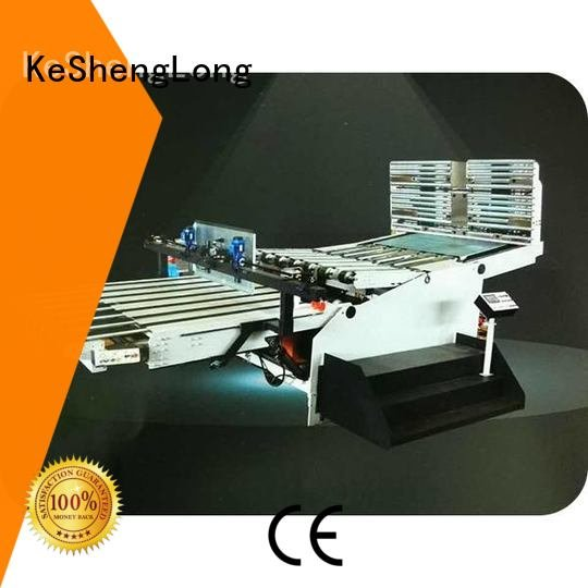 KeShengLong Brand Auxiliary three color PFA cardboard box printing machine