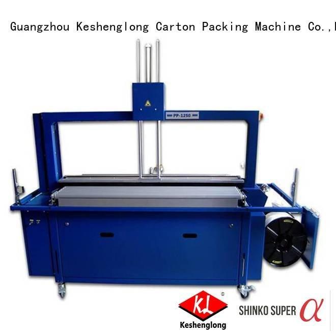KeShengLong Brand palletizing slitter cardboard box printing machine stacker pfa