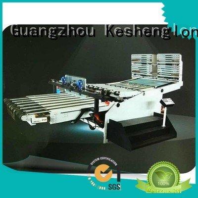 PFA Top KeShengLong Brand Auxiliary cardboard box printing machine six color three color