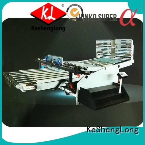 PFA cardboard box printing machine KeShengLong cardboard box printing machine