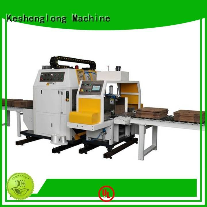cardboard box printing machine four color three color OEM cardboard box printing machine KeShengLong