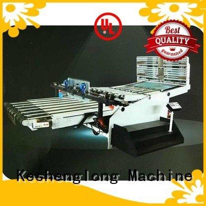 Custom cardboard box printing machine six color Top four color KeShengLong