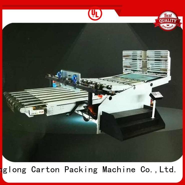 KeShengLong three color Top cardboard box printing machine six color Auxiliary