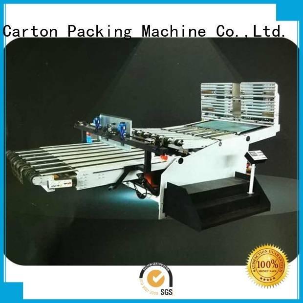 OEM cardboard box printing machine three color four color cardboard box printing machine