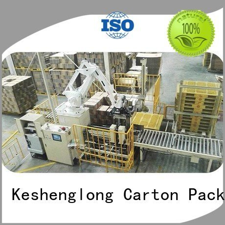 cardboard box printing machine stacker KeShengLong Brand cardboard box printing machine