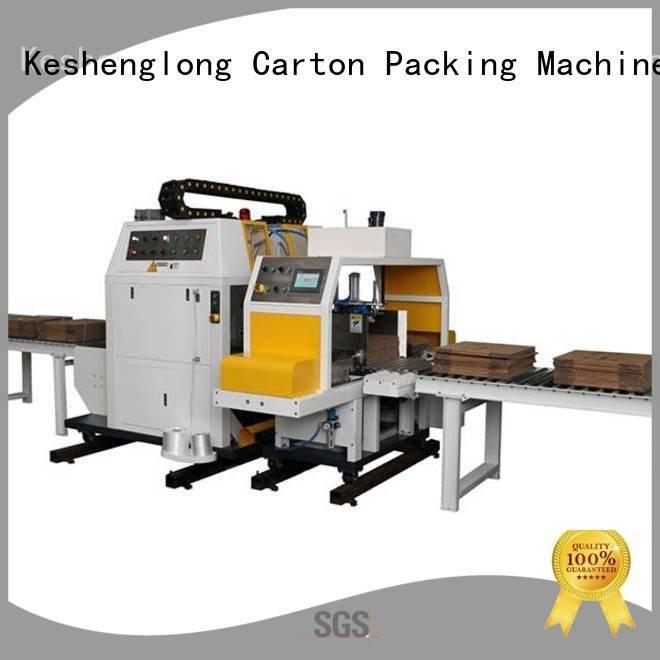 cardboard box printing machine six color cardboard box printing machine KeShengLong