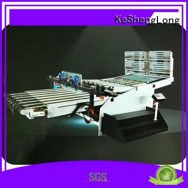 cardboard box printing machine PFA KeShengLong Brand cardboard box printing machine