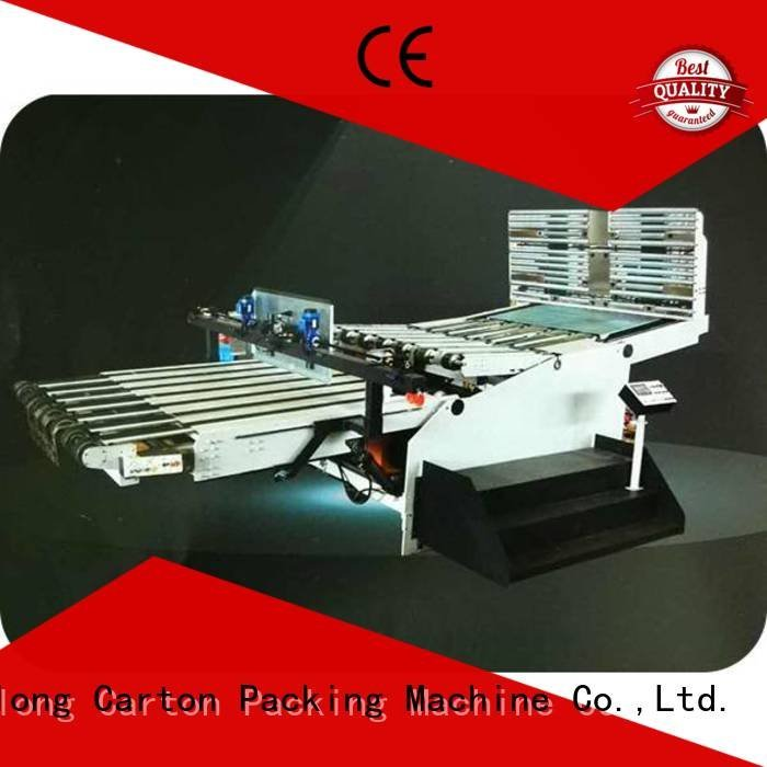 three color cardboard box printing machine KeShengLong cardboard box printing machine