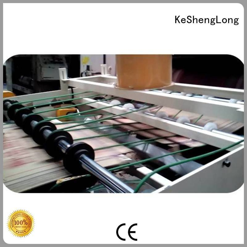 KeShengLong cardboard box printing machine three color six color Top Auxiliary