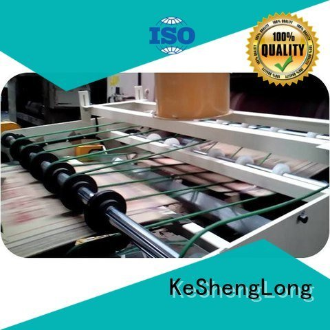 KeShengLong Top three color cardboard box printing machine six color PFA