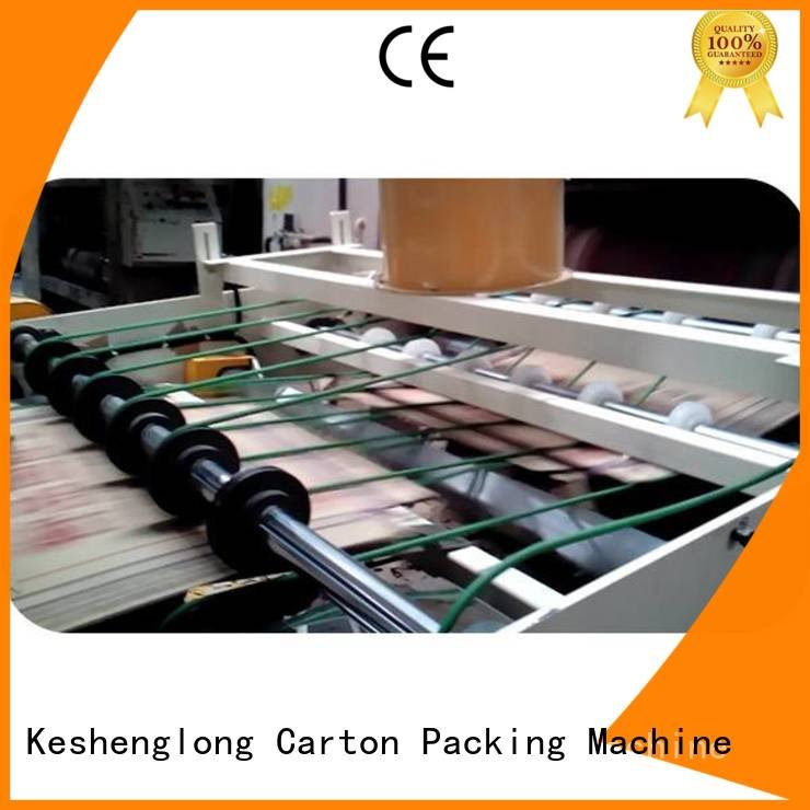 cardboard box printing machine six color Auxiliary Top four color KeShengLong
