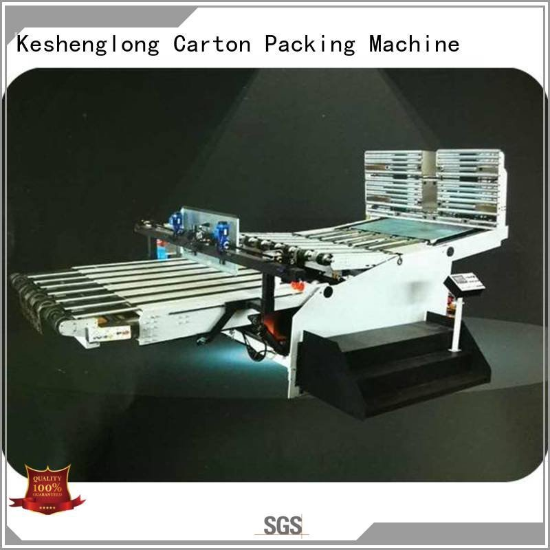 Top three color cardboard box printing machine four color KeShengLong