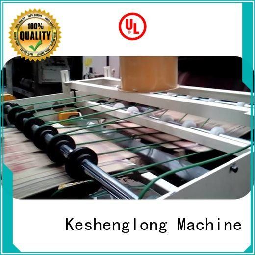 cardboard box printing machine four color Auxiliary Top KeShengLong