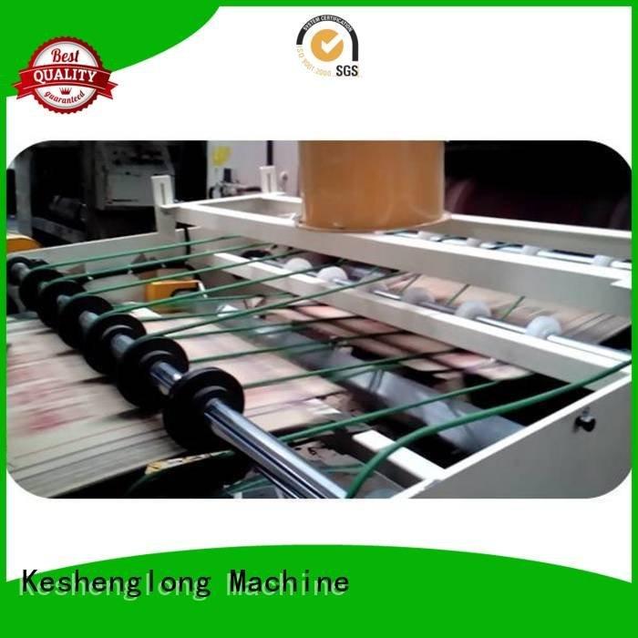Auxiliary PFA Quality cardboard box printing machine KeShengLong Brand three color cardboard box printing machine Top