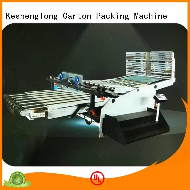 KeShengLong cardboard box printing machine three color PFA Auxiliary four color