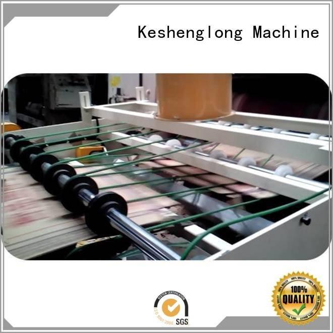 KeShengLong PFA Auxiliary cardboard box printing machine four color three color