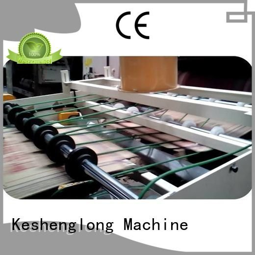 KeShengLong Brand Auxiliary six color cardboard box printing machine Top four color