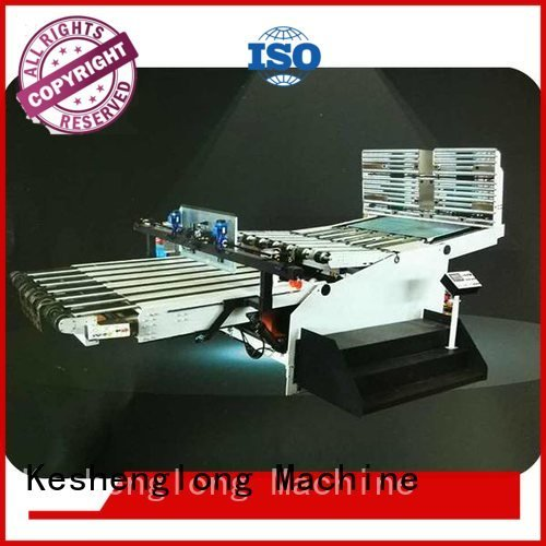 cardboard box printing machine six color Top cardboard box printing machine KeShengLong Brand