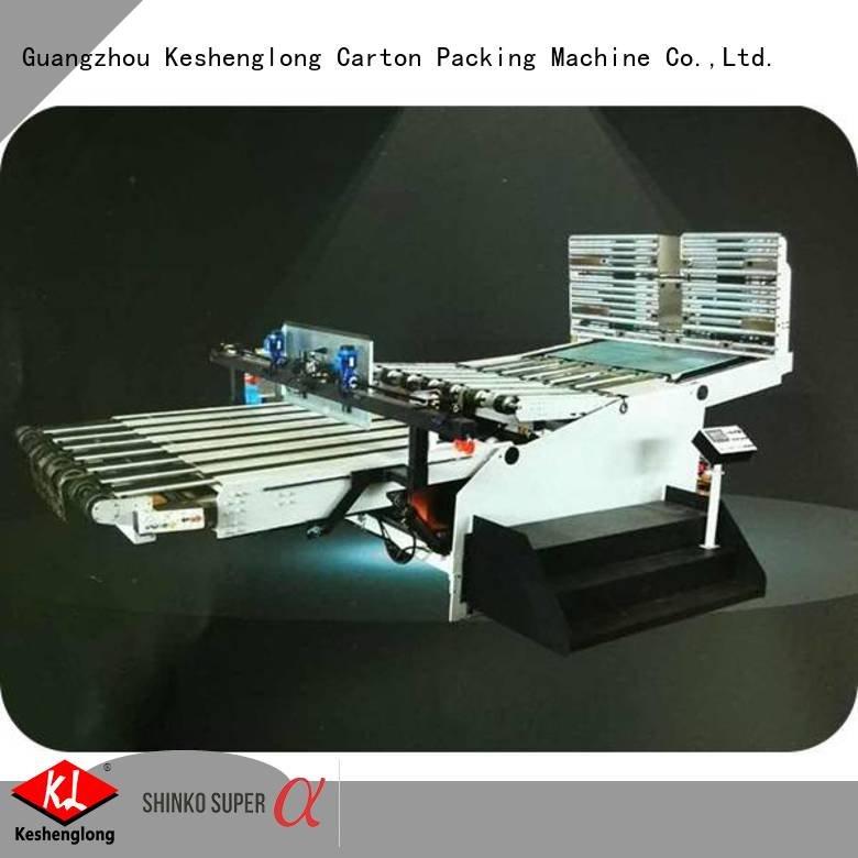 KeShengLong Brand auto pp1250 cardboard box printing machine semiauto stripper