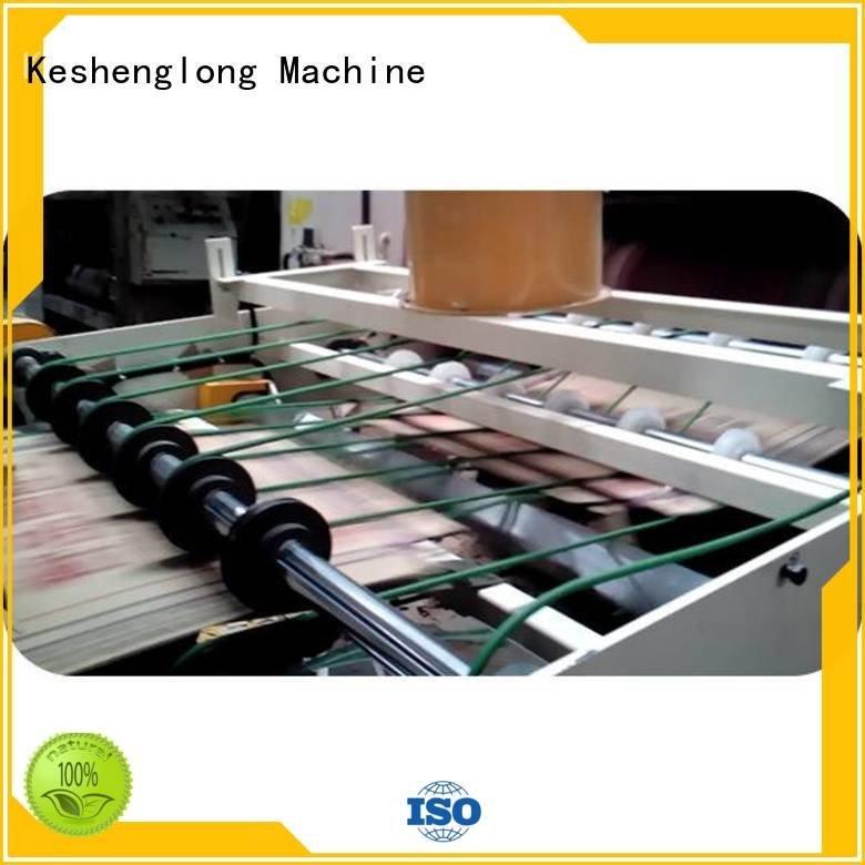 cardboard box printing machine three color Auxiliary cardboard box printing machine