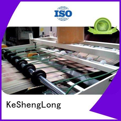 KeShengLong Brand PFA six color cardboard box printing machine Top Auxiliary