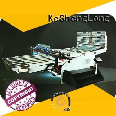 KeShengLong Brand Auxiliary cardboard box printing machine three color four color