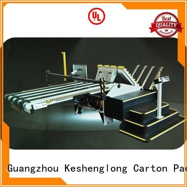 KeShengLong Brand six color PFA cardboard box printing machine three color Top